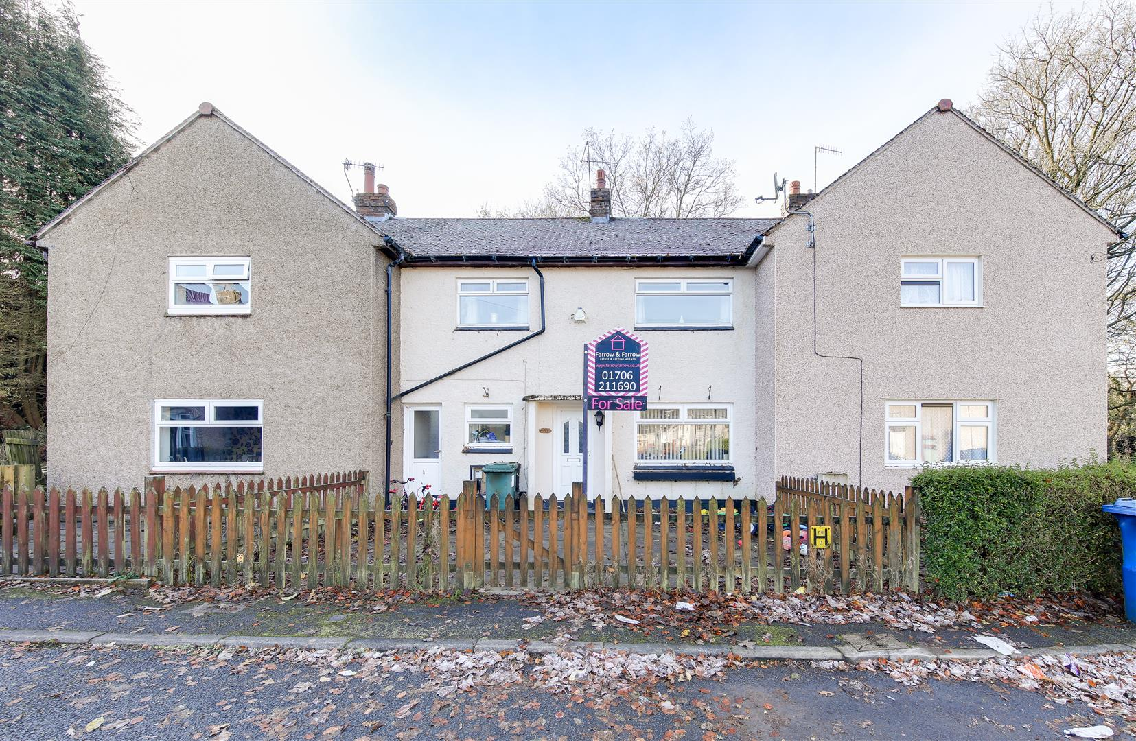 2 Bedrooms Town House for sale in Woodside Crescent, Newchurch, Rossendale